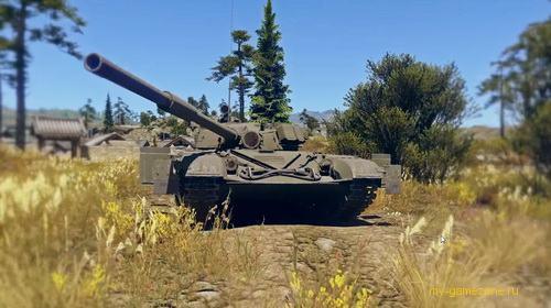 обзор боевого танка war thunder