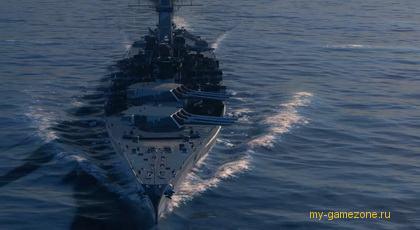 Обзор эсминца Warships
