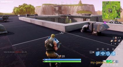 взятие лута с крыши