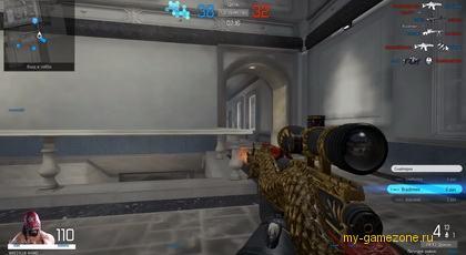 Снайперская винтовка из игры