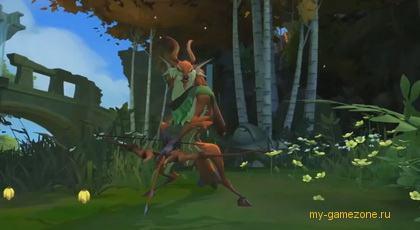 Кадр из игры Гигантик