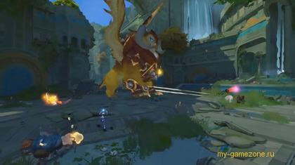 Скриншот из шутера