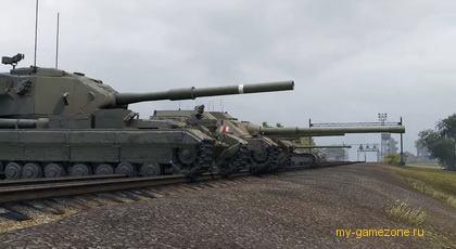 Французская линия броневых машин
