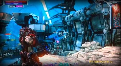 Разрушения на корабле Ultramegon