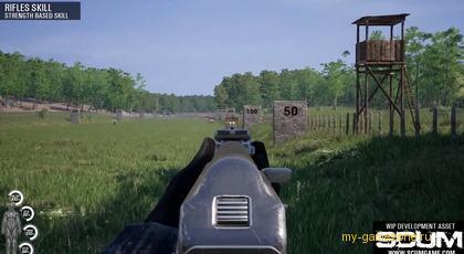 Обучение стрельбе в игре scum