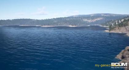 Вид острова на выживание