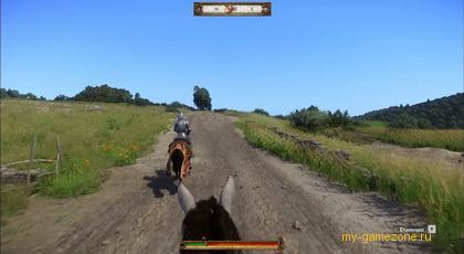 Верхом на коне