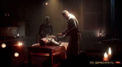 Эпизод в больнице с вампиром