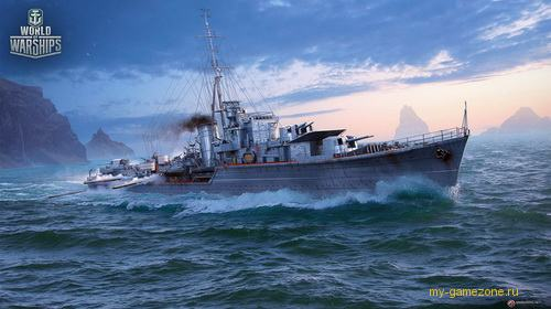 Обновление World of Warships 0.6.14