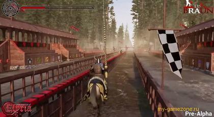 Бои на конях Chronicles of Elyria