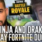 Дрейк сыграл в Fortnite