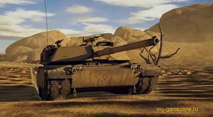 War Thunder M1 Abrams
