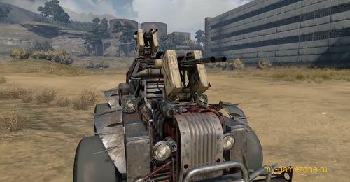 Crossout создание машины